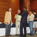 Winning in Vitoria, Spain Receiving my Trophy for first place in Open Vitoria Gasteiz 2009