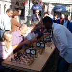 Outdoor Simul Exhibition at the big Square In Linköping, Sweden